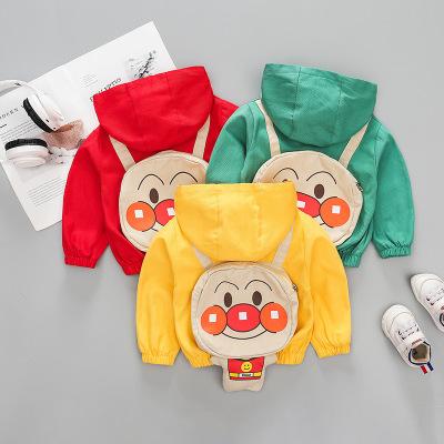 Áo khoác trẻ em  Áo khoác trẻ em mùa thu hoạt hình áo khoác bé trai và bé gái hoang dã Q 6332
