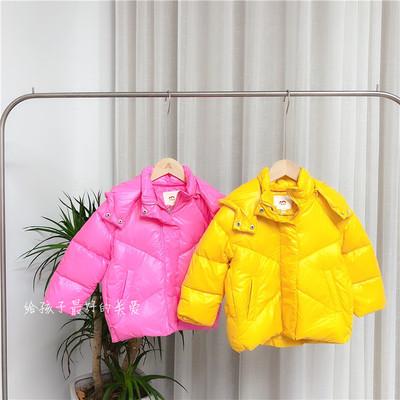 Áo khoác trẻ em  Áo khoác lông mùa đông 2019 cho bé trai và bé gái Hàn Quốc Trẻ em Hàn Quốc mặc áo t