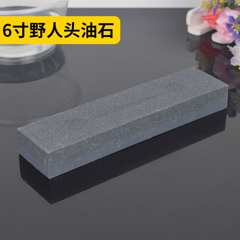 SHAUNGHUAN Công cụ mài Hai mặt 6 inch man rợ mài đá đen đá silic cacbua đá nhà đá mài nhà sản xuất t