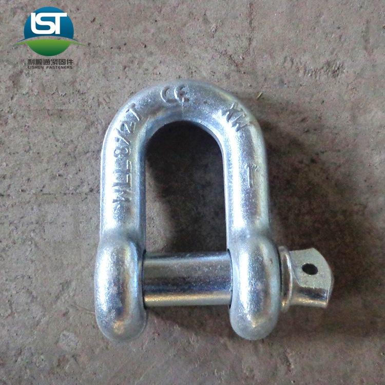 LISHUNTONG Công cụ chằng buộc Yongnian Lishuntong Cung cấp thép carbon Kiểu còng chữ D dây xích kết