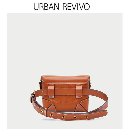 Túi xách nữ thời trang  URBAN REVIVO2019 phụ nữ thanh niên mới phụ kiện khâu túi xe hơi AU04SB8N200
