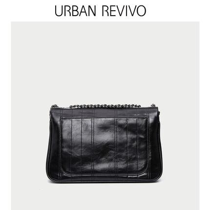 Túi xách nữ thời trang  URBAN REVIVO2019 phụ kiện mới dành cho nữ dòng xe da Túi Messenger AE06RB4N