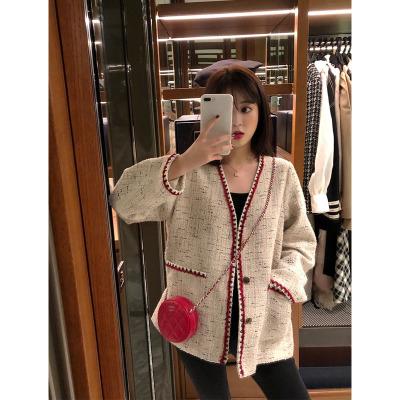 áo khoác Người nổi tiếng nhỏ áo khoác mỏng phần 2019 mùa thu mới phiên bản Hàn Quốc của những chiếc