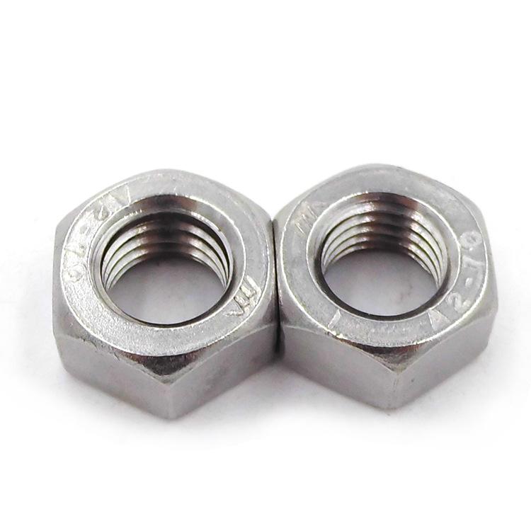 ROCCPS Tán DIN934 thép không gỉ hex nut hex nut 201 inox nut nut M3-M36