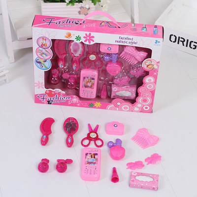 Thị trường đồ chơi Cô gái mới đồ chơi trẻ em chơi nhà đồ trang sức đồ chơi nhà máy bán hàng trực tiế