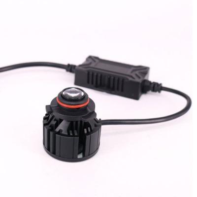 Đèn LED đèn pha laser sửa đổi cho xe máy .