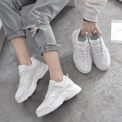Giày trắng nữ 34 đôi giày cỡ nhỏ nữ 313233 mùa xuân và mùa thu đôi giày nhỏ màu trắng 41 đôi giày nữ