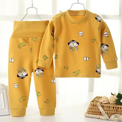 Đồ Suits trẻ em Quần áo thu đông 2019 quần áo trẻ em mới quần áo mùa thu quần dài cotton hoạt hình p