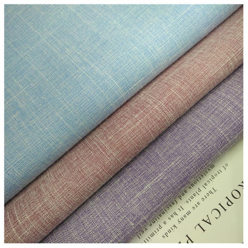 RENKAI Vải pha sợi Bán buôn tại chỗ 180GSM dệt sợi hóa học pha trộn thun TR vải tre Mùa xuân và mùa