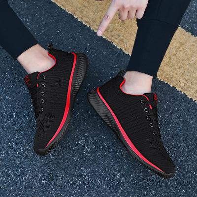 Giày FuJian Thời trang xuyên biên giới giày thông thường giày nam cỡ lớn giày lưới thoáng khí giày