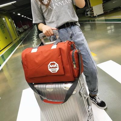 Túi xách du lịch Phiên bản tiếng Hàn của túi du lịch dung lượng lớn túi du lịch xách tay thể thao tú
