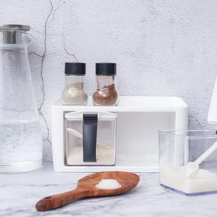 Artline  Chai nhựa  Nhà bếp hộp gia vị lọ lọ gia vị chai đặt gia vị kết hợp với nắp hộp lưu trữ gia