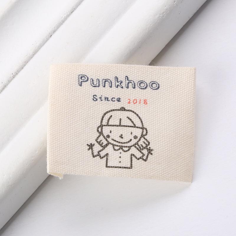 tem mạc , logo Nhà sản xuất giặt quần áo tiêu chuẩn tùy chỉnh nhãn hiệu nước giặt nhãn cổ áo với nhã