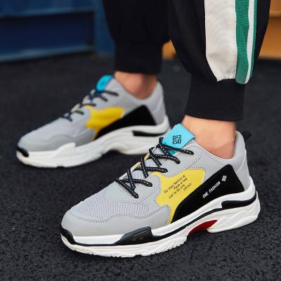 Giày lưới Giày nam 2019 hè và thu mới lưới thoáng khí thể thao giày chạy bộ nam xu hướng giày đế xuồ