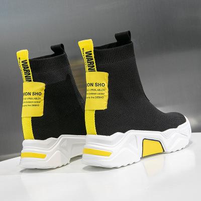 giày bánh mì / giày Platform Giày Martin nữ 2019 mới cũ giày đế dày đế bệt nữ tăng 8cm Giày nữ đế bệ