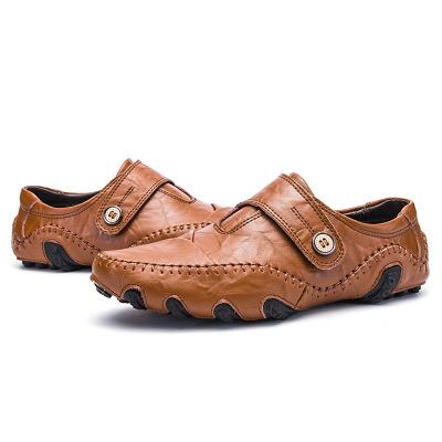 Giày lười / giày mọi đế cao Ngoại thương Amazon AliExpress 2019 giày nam bình thường thời trang Giày