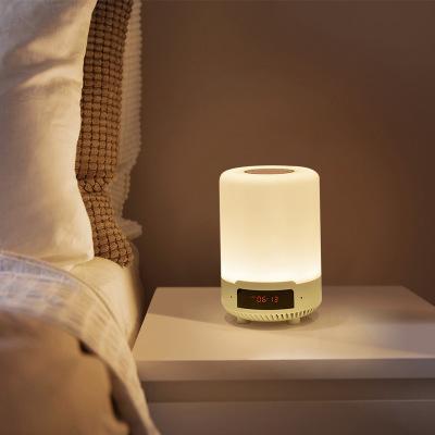 Sangang Đèn điện, đèn sạc Sáng tạo thông minh Bluetooth âm thanh LED ánh sáng ban đêm có thể sạc lại