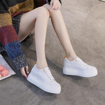 Giày trắng nữ Giày trắng nữ tăng 2019 phiên bản Hàn Quốc mới của xu hướng hoang dã phổ biến thoải má