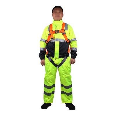 Dây đai an toàn   Điều chỉnh núm đai toàn thân 3M Kettering 1114184 Orange (Màu cam phía dưới màu xá