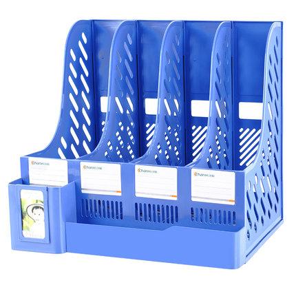 chanyi Kệ hồ sơ  Làm dày tập tin giỏ giỏ nhiều lớp bốn thanh hộp văn phòng cung cấp Daquan dữ liệu t
