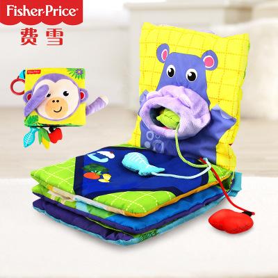 sách vải Cuốn sách vải Fisher F0827 avatar vải stereo cuốn sách trẻ em bé giáo dục sớm đồ chơi giáo