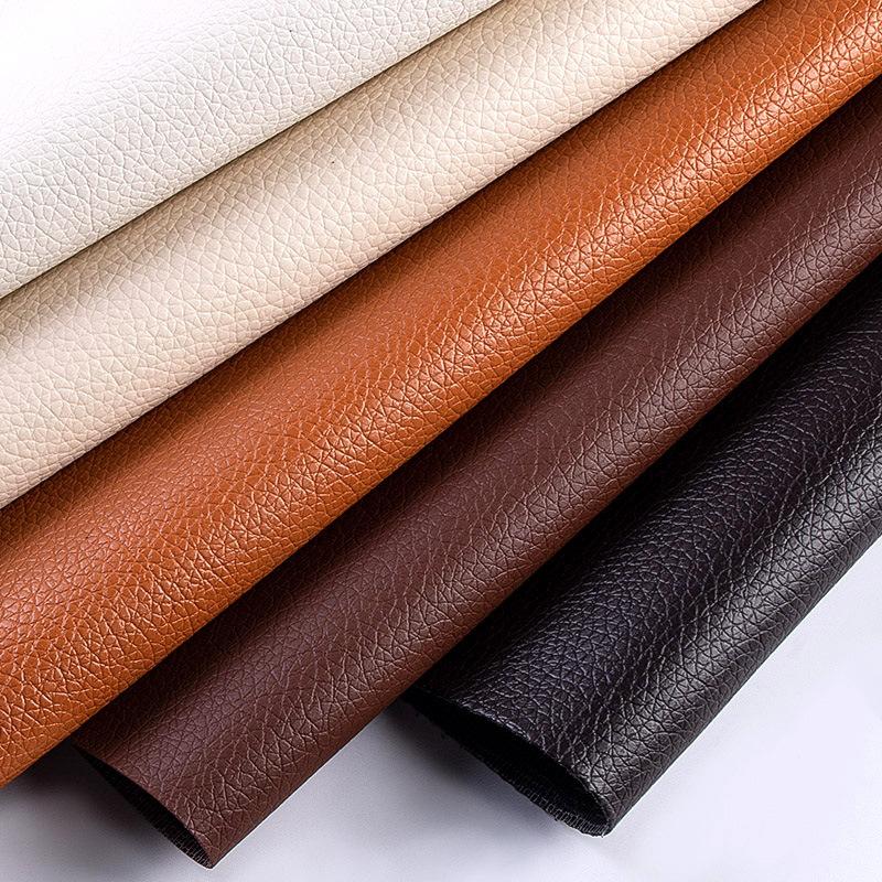 BURONGPI Simili tổng hợp Off-the-shelf DE90 mẫu vải thiều nhỏ bằng vải bọc da PVC túi sofa da nhân t