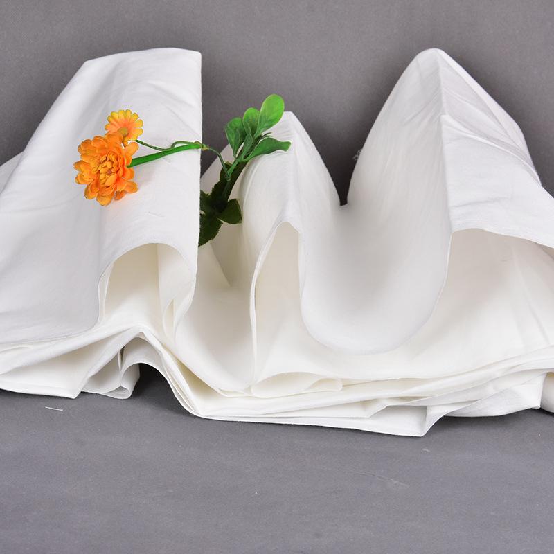 Vải mộc sợi hoá học Vải TR màu xám Chất kết dính vải polyester Vải chéo màu trắng TR80 / 20 104 × 50