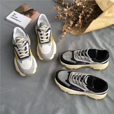 giày bánh mì / giày Platform Giày nữ Han Wei 5148 2019 mùa hè và mùa thu mới giày nữ cũ thủy triều l