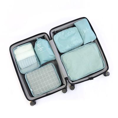 Túi xách du lịch Túi lưu trữ Du lịch chống thấm quần áo hoàn thiện túi lưu trữ Đa chức năng công suấ