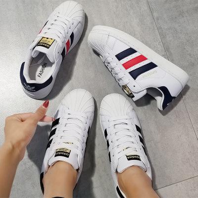 Giày Sneaker / Giày trượt ván Shell giày giày nam và nữ đôi vàng tiêu chuẩn vỏ đầu giày nam vải thoá