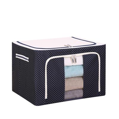 Túi xách du lịch Túi xách tay di chuyển mới Túi xách tay du lịch Vải khung thép lưu trữ hộp quần áo
