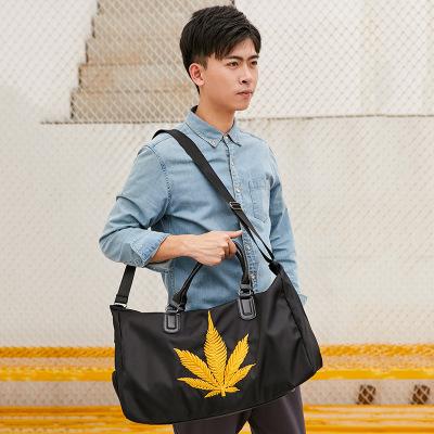 Túi xách du lịch Phiên bản tiếng Hàn của túi du lịch màu đỏ nam xách tay lên máy bay du lịch khoảng