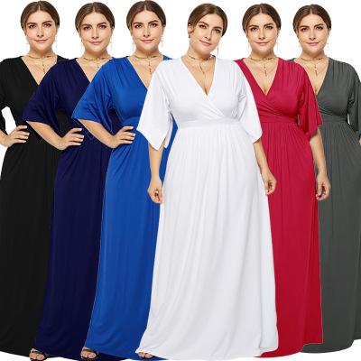 Trang phục bầu Chúc Amazon hot sale phụ nữ mới mang bầu gợi cảm XL Phụ nữ mặc đồ Âu và Mỹ