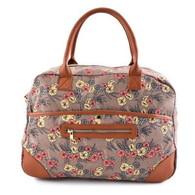 Túi xách du lịch Canvas du lịch màu vàng đất túi du lịch túi du lịch xách tay túi lưu trữ hành lý