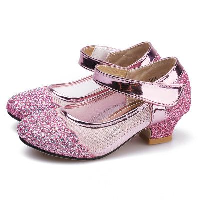 Giày da một lớp Giày cô gái thỏ Rex mùa xuân và mùa thu 2019 Giày trẻ em công chúa mới đôi giày pha