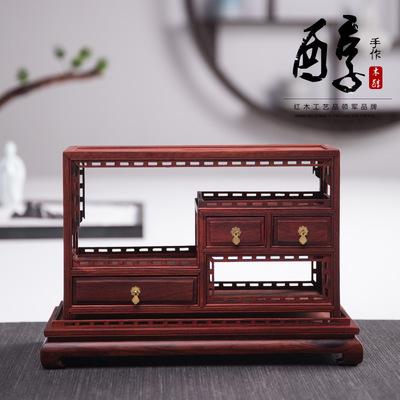 MUCHUN Đồ trang trí bằng gỗ Gỗ rắn chạm khắc gỗ thủ công quà tặng Trung Quốc cổ Ming và Qing Dynasti