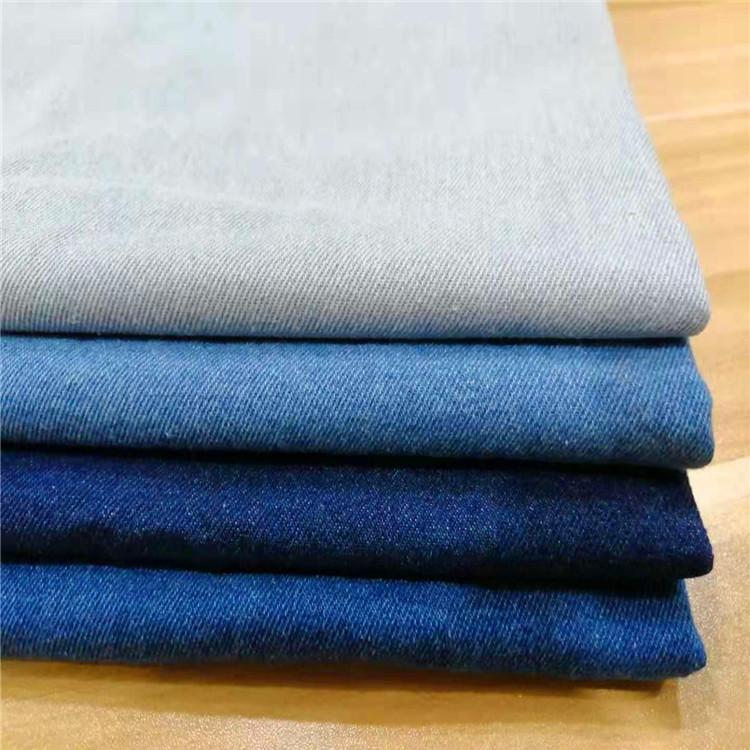 HZ Vải Jean 10 * 10 bông chải kỹ có thể giặt được quy trình khác nhau