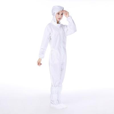 Trang phục bảo hộ Nhà máy bán buôn quần áo chống tĩnh điện xưởng làm sạch quần áo trùm đầu jumpsuit
