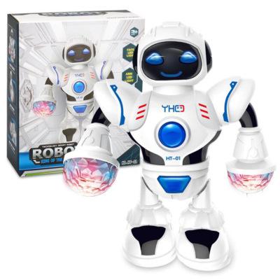 Rôbôt  / Người máy Robot nhảy điện 2019 mô hình đồ chơi xuyên biên giới Phiên bản tiếng Anh LED nhiề
