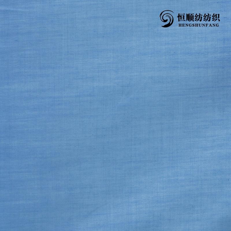 HENGSHUNFANG Vải cotton pha polyester Nhà máy bán buôn vải polyester / cotton dệt pha trộn Vải màu c
