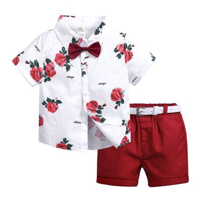 Áo Sơ-mi trẻ em Mùa hè 2019 quần áo trẻ em mới cho trẻ em mùa hè Châu Âu và Hoa Kỳ trẻ em lớn in áo