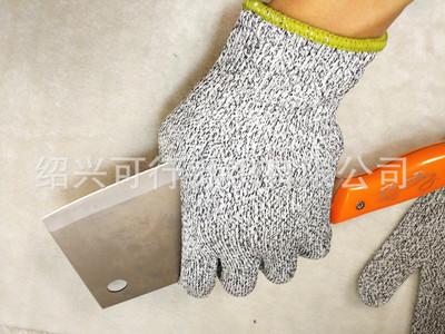 Găng tay chống cắt  Găng tay chống cắt 5 cấp tùy chỉnh Thương mại điện tử xuyên biên giới nổ thực ph
