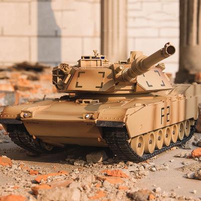 Xe điều khiển từ xa Bán buôn Tong Li American M1A2 điều khiển từ xa xe tăng mô hình đồ chơi điều khi