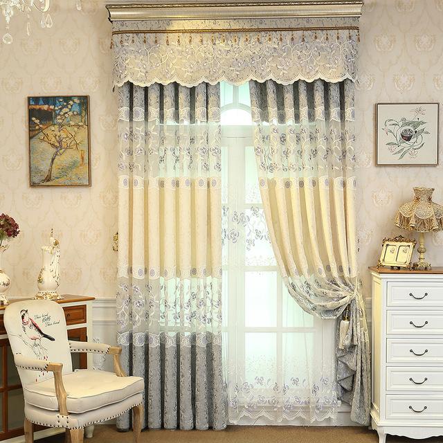 AILIANSHUO Vải rèm cửa Túi làm tóc rèm vải nhà máy trực tiếp bán buôn độ chính xác cao Phòng ngủ châ