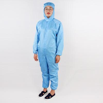 Trang phục bảo hộ Nhà sản xuất chống bụi quần áo trùm đầu jumpsuit sơn quần áo bảo vệ quần áo sạch q