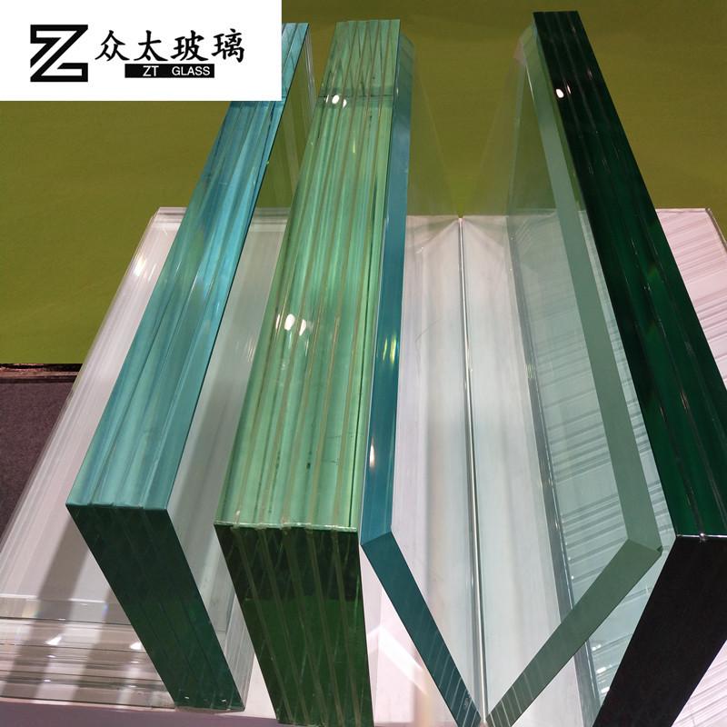 ZHONGTAI NLSX thủy tinh Nhà sản xuất kính đặc biệt tùy chỉnh kích thước lớn, siêu dày, kính cường lự