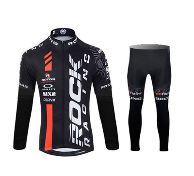 Trang phục xe đạp Rock Racing 2016 mới phiên bản đội của áo phù hợp với áo sơ mi thấm nước xe đạp Je