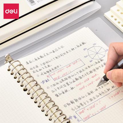 Sổ tay  Sổ ghi chép kim loại lỏng lẻo hiệu quả có thể thay thế sổ ghi chú bên trong lõi nhỏ học sinh