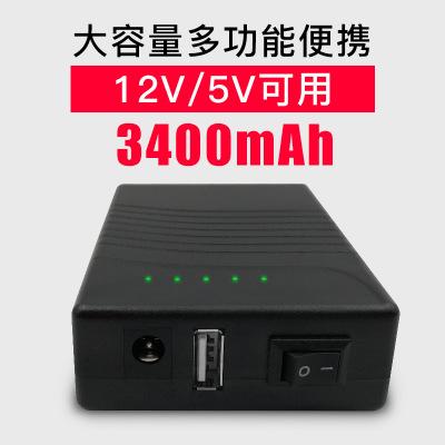 Pin Lithium-ion Pin lithium 12V / 5V đa chức năng có thể sạc lại pin di động USB sạc điện thoại kho