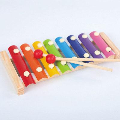 Đồ giảng dạy trẻ sơ sinh Nhà máy trực tiếp bát tay gõ xylophone gõ xylophone trẻ sơ sinh dạy học đồ